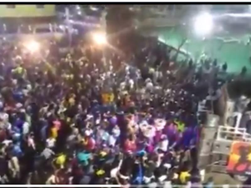 कोरोना गाइडलाइन की धज्जियां उड़ीं, सगाई में उमड़े 6 हजार लोग, 18 गिरफ्तार