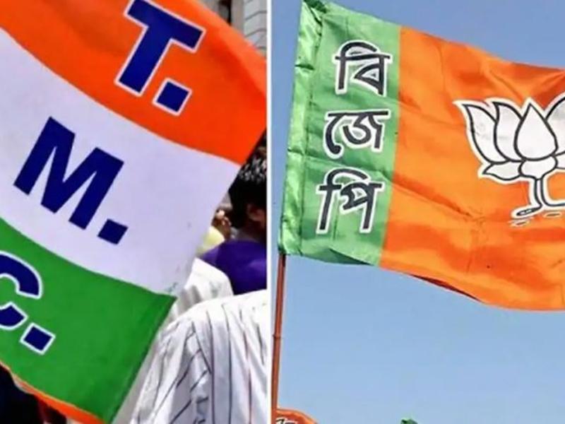 बंगाल चुनाव LIVE: भाजपा और टीएमसी आज जारी कर सकती हैं प्रत्याशियों की सूची