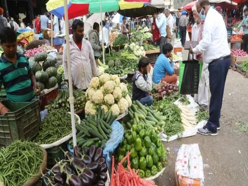 महंगे पेट्रोल-डीजल और भारी बारिश का असर, थोली से गायब हो गईं महंगी सब्जियां