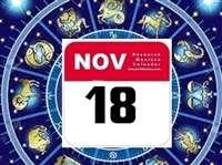 राशिफल 18 नवंबर: छुट्टी वाले दिन परिवार में सुख शांति का वातावरण रहेगा