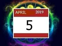 Horoscope 5 April  2019: संबंधों में मधुरता रहेगी, रिश्ता तय हो सकता है