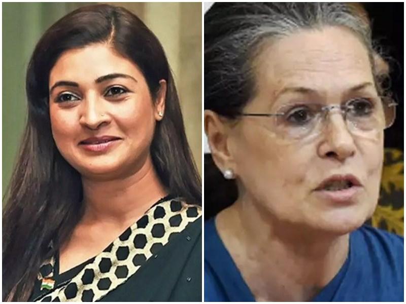 AAP विधायक अलका लांबा ने सोनिया गांधी से की मुलाकात, कांग्रेस में हो सकती हैं शामिल
