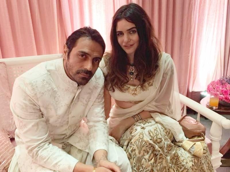 Arjun Rampal and his Model girlfriend Gabriella welcome baby boy