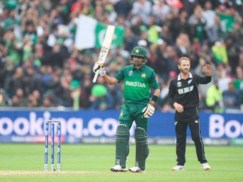 ICC World Cup 2019 PAKvsNZ: पाकिस्तान की जीत में बाबर का शानदार शतक