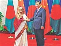 बांग्लादेश को लुभाने में जुटा चीन