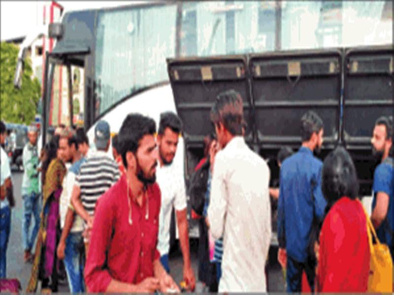 ISBT Bhopal : इंदौर का किराया 350 रुपए, ISBT से हलालपुर पहुंचने में लग रहे 200