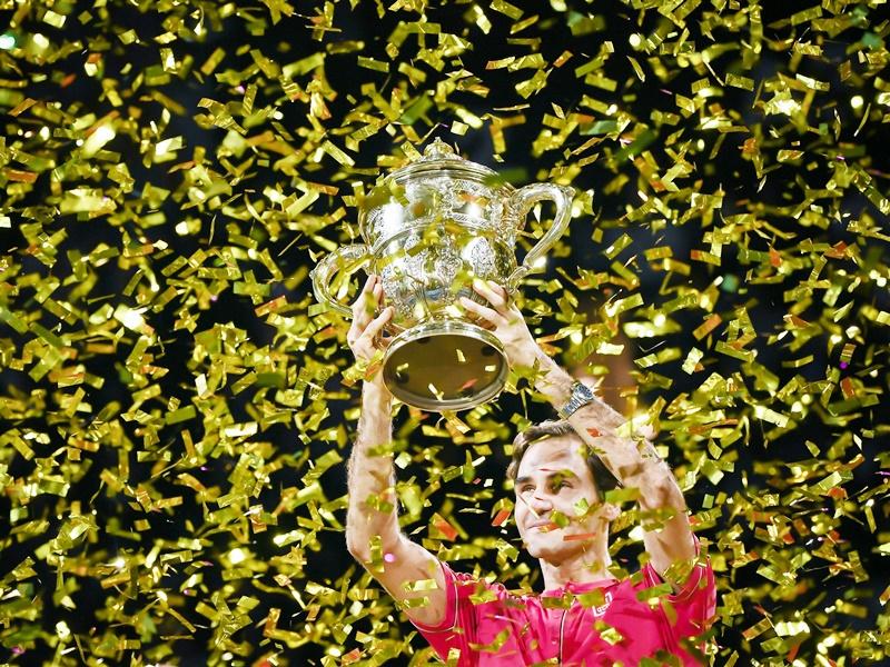 Roger Federer record title: जिस कोर्ट में बने थे बॉल बॉय, फेडरर ने वहां रचा इतिहास