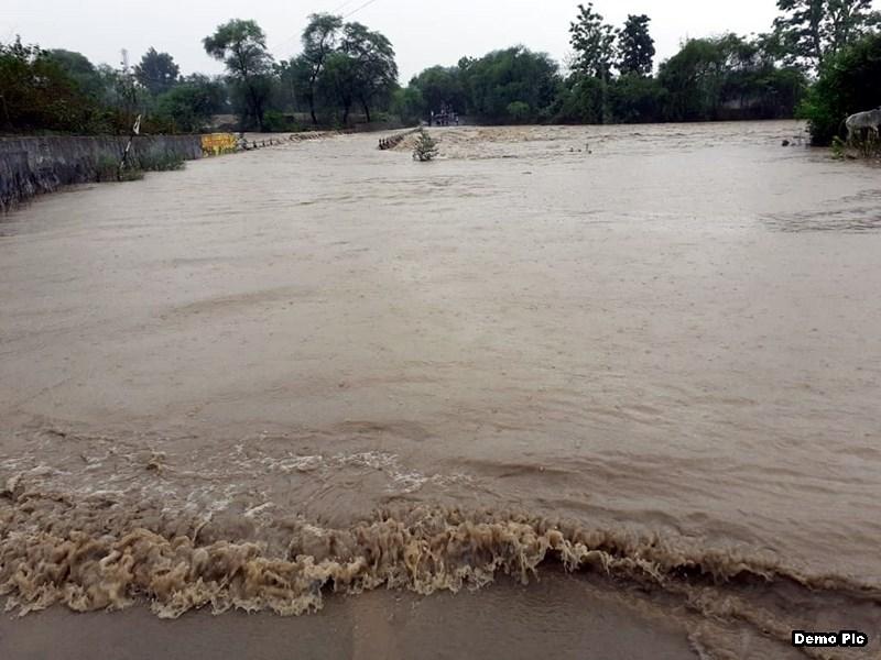 Weather Alert : भारी बारिश से उज्जैन जिले में शिप्रा और चंबल नदी उफान पर