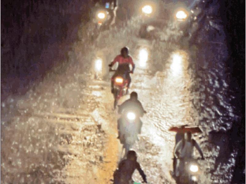 Madhya Pradesh Weather Update : यहां 4 घंटे में डेढ़ इंच से ज्यादा बारिश, आगे ऐसा रहेगा मौसम