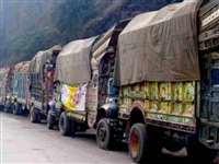 अमरनाथ यात्रा के लिए लंगरों का सामान लदे ट्रक पहुंचे कश्मीर