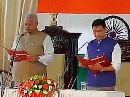 पेमा खांडू बने अरुणाचल प्रदेश के नए मुख्यमंत्री