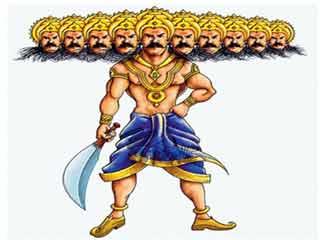 जब महाराज रघु  के तीर से टूट गया रावण का अहंकार