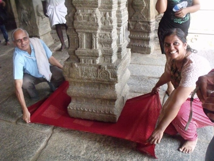 hanging pillar temple in andhra pradesh
