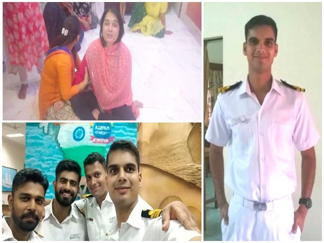 INS Vikramaditya Fire : लेफ्टिनेंट कमांडर की शहादत पर मां बोलीं- मेरा रियल हीरो चला गया