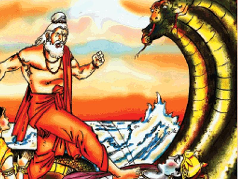 इस तरह महर्षि भृगु ने ली थी तीनों देवोंं की परीक्षा, विष्णु ने सहलाया था मुनि का पैर