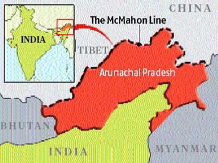 मैकमोहन लाइन को चीन ने अवैध बताया