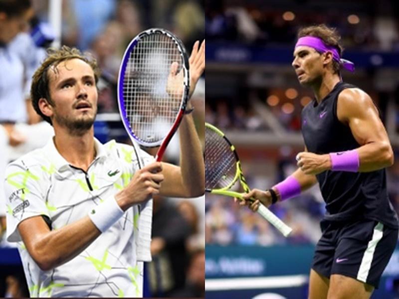 US Open 2019: नडाल का मेदवेदेव के खिलाफ पलड़ा भारी रहने का अनुमान