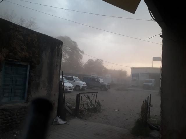 Madhya Pradesh Weather : भीषण गर्मी के बीच बदला मौसम, तेज आंधी के साथ बारिश, ओले भी गिरे
