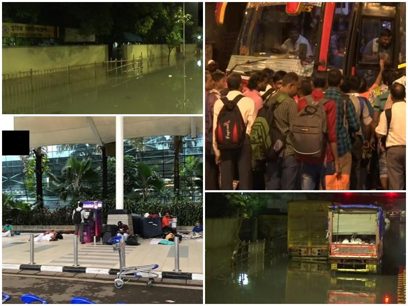 Mumbai Heavy Rain Update: पानी-पानी हुई मायानगरी, आज भी भारी बारिश का अलर्ट