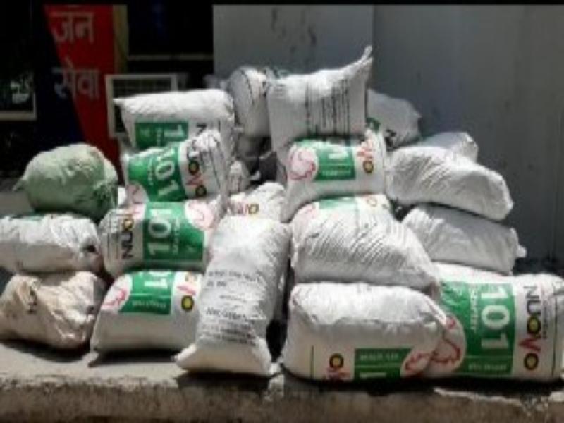 Morena Crime News: उड़ीसा से ट्रक में ला रहे थे कराेड़ाें का गांजा, पुलिस ने पकड़ा