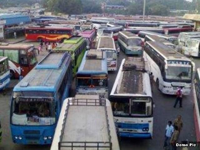 Gwalior Public Transport News: दौड़ने लगी बसें, पर यात्रियों से लिया दुगना किराया