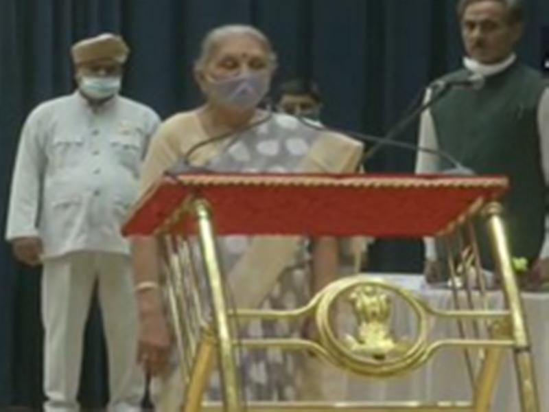 Madhya pradesh Governor : आनंदीबेन पटेल ने ली मध्य प्रदेश के प्रभारी राज्यपाल पद की शपथ