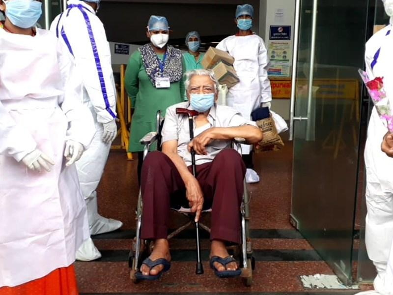 Madhya Pradesh Live News Updates : इंदौर में 93 वर्ष के मरीज कोरोना को हराकर घर लौटे