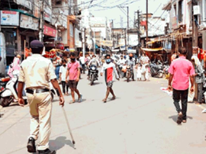 Total Lockdown in Raipur : रायपुर में अब किराना दुकान भी बंद, सुबह 10 बजे तक मिलेगी सब्जी