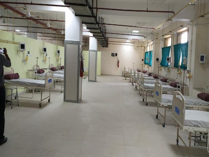 Bhopal Health News: कोरोना की तीसरी लहर के लिए तैयारी... हमीदिया और जेपी अस्पताल में सितंबर तक बढ़ पाएंगे बिस्तर