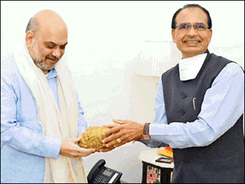 सीएम शिवराज सिंह चौहान ने की गृहमंत्री अमित शाह से मुलाकात, नक्सली समस्या पर जताई चिंता
