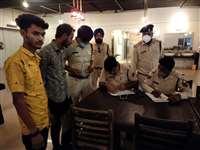 20 हुक्का बार में पुलिस ने दी दबिश, सिर्फ दो पर ही कार्रवाई