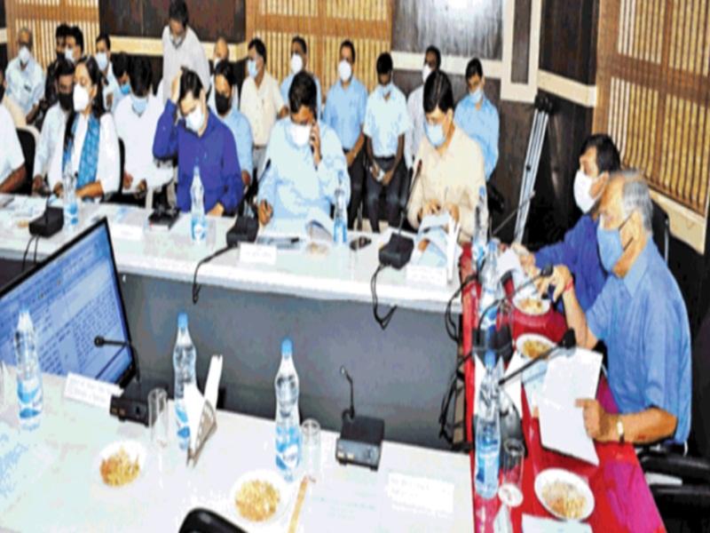 Gwalior Disha Meeting News: अमृत के कामाें में देरी पर भड़के सांसद, कहा-नवंबर 2021 तक काम पूरा नहीं हुआ ताे आप पर कार्रवाई मैं करूंगा