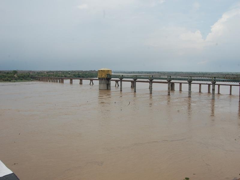 Rain in Madhya Pradesh : मुरैना में चंबल नदी उफान पर, पचास गांवों में अलर्ट