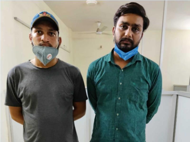 Black Marketing Of Remdesivir: रेमडेसीविर की कालाबाजारी करते दुर्ग के दो आरोपित रायपुर में गिरफ्तार
