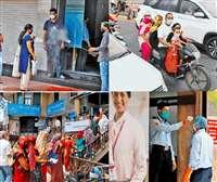 Unlock 1.0 in Indore : इंदौर में अनलॉक 1 में कहीं नियमों का पालन तो कहीं लापरवाही
