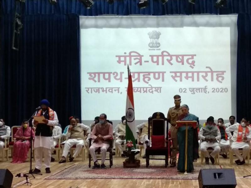 कांग्रेस सरकार को गिराने वाले हरदीपसिंह डंग को मिला इनाम, बने कैबिनेट मंत्री