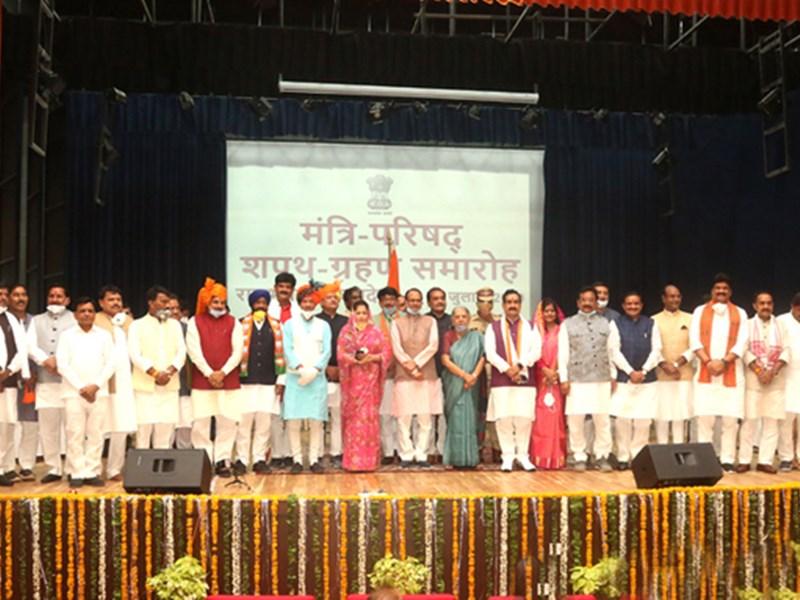 MP Cabinet Expansion : शिवराज सिंह चौहान सरकार में ज्योतिरादित्य सिंधिया समर्थकों का दबदबा