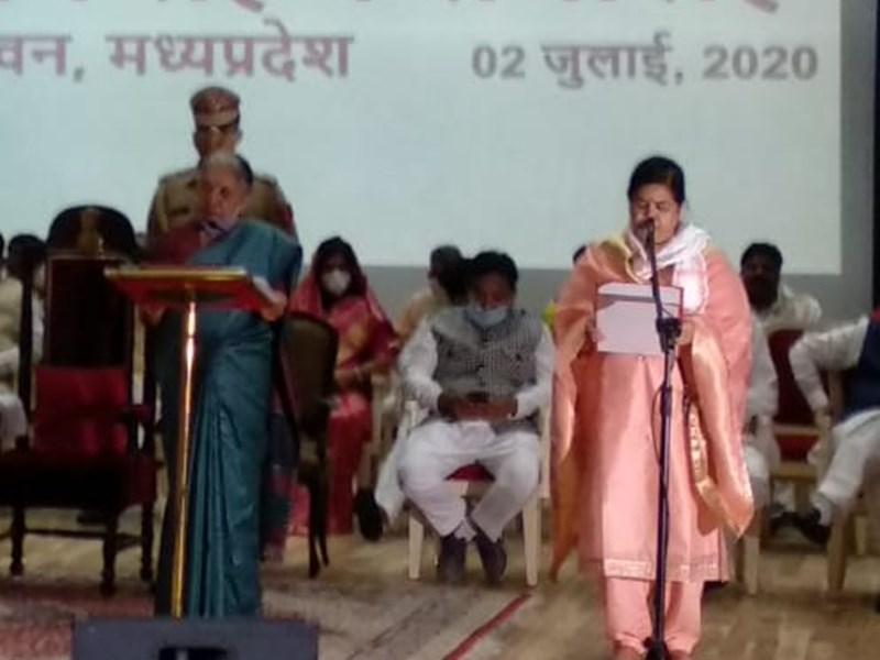 Usha Thakur : ऊषा ठाकुर बनीं कैबिनेट मंत्री, रात तक नहीं था पता, सुबह आया बुलावा