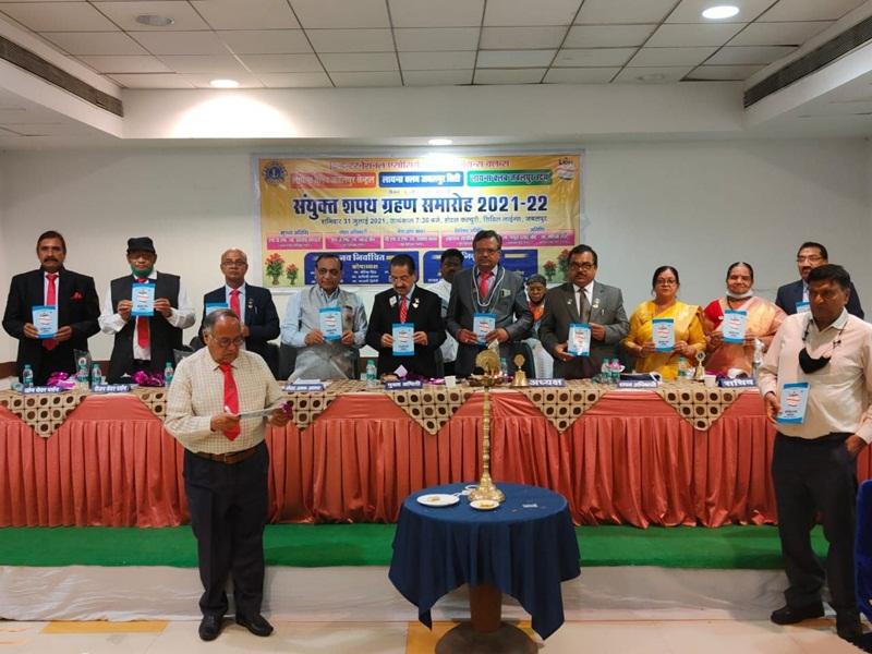 Jabalpur News : सेवा कार्यों को करने की ली शपथ