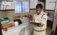 दतिया में रंजिश के चलते बदमाशों ने पुलिस आरक्षक को मारी गोली