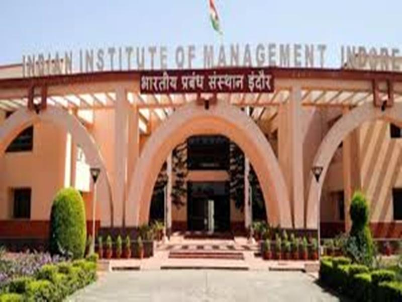 आइआइएम इंदौर के 68 विद्यार्थियों को कंपनियों ने चुना, अधिकतम 32 लाख का पैकेज हुआ आफर