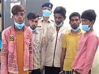 Stealing Cash from Donation Box: रायपुर में मंदिर के दान पेटी से नकदी चोरी करने वाले 5 गिरफ्तार