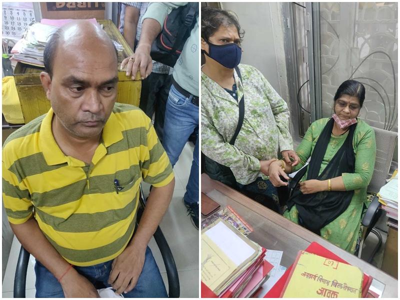 Crime News Indore: इंदौर नगर निगम के सिटी इंजीनियर को लोकायुक्त पुलिस ने रिश्वत लेते पकड़ा