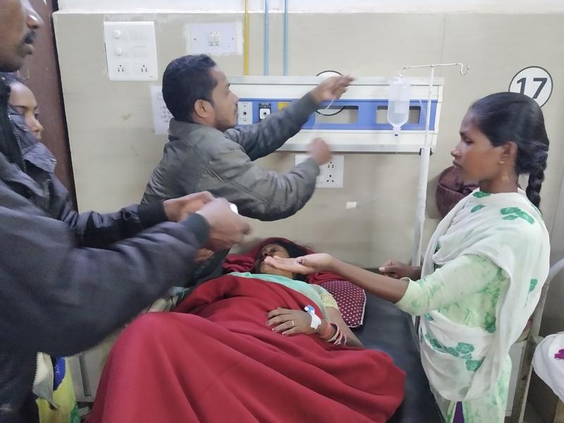 Dantewada accident : दंतेवाड़ा के पास खड़ी ऑटो को ट्रक ने मारी टक्कर, दो की मौत