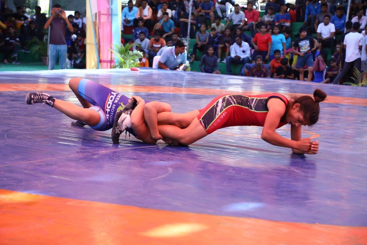 City Sports Indore News:   प्रियांशी, माधुरी और पूजा ने दिखाया दम