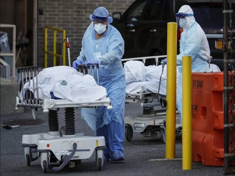 Coronavirus: अमेरिका में कोरोना से मरने वालों का आंकड़ा बढ़कर हुआ  1,08,104