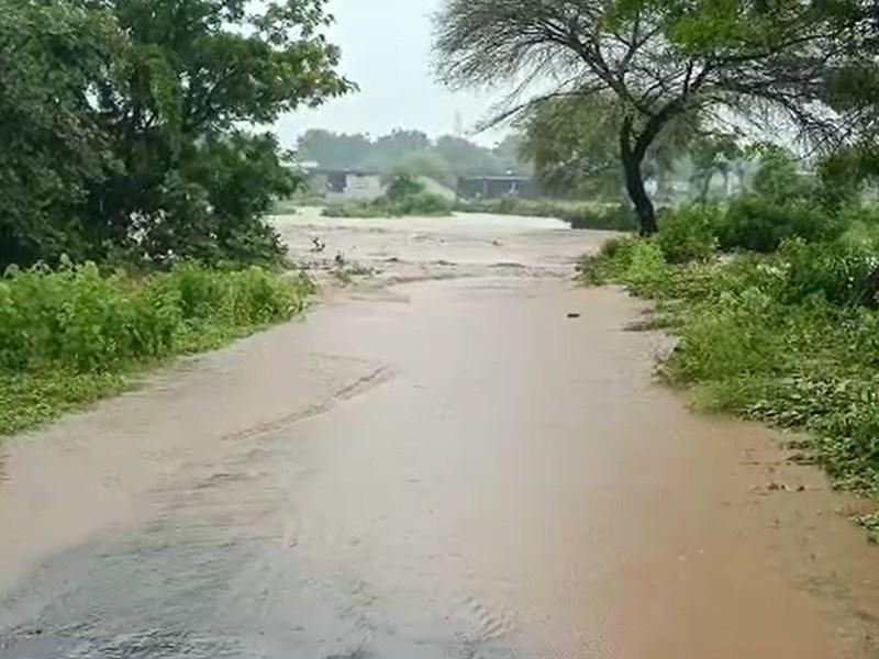 Madhya Pradesh Weather Update : खंडवा के पुनासा सहित आस-पास के इलाके में तेज बारिश