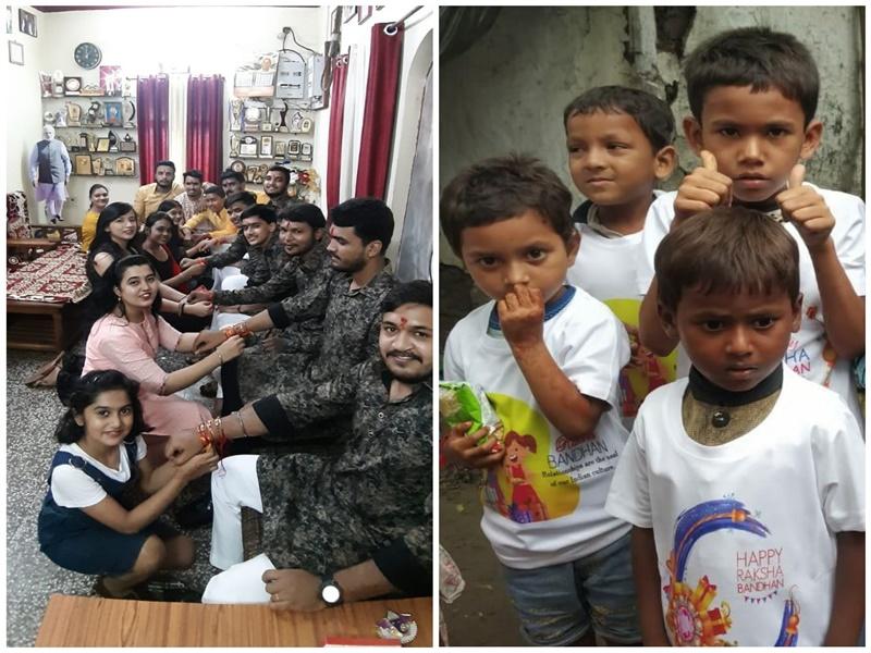 Raksha Bandhan 2020: बच्चों के चेहरों पर बिखेरी मुस्कान, जरूरतमंदों की मदद, भाई- बहनों ने ऐसे मनाया रक्षा पर्व