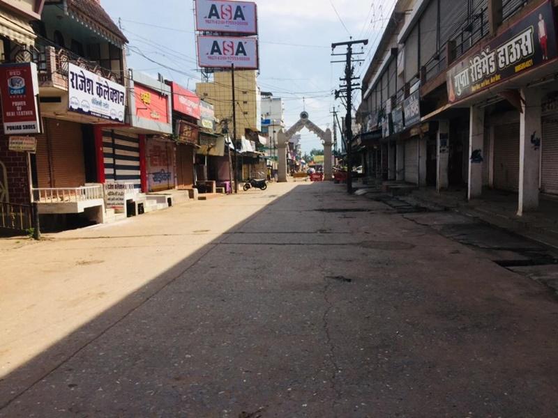 छत्तीसगढ़ के इस शहर में भी उठ रही लॉकडाउन की मांग, पिछले एक सप्ताह से बंद है बाजार