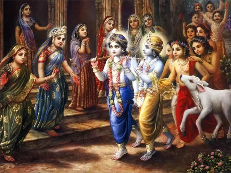 Bhagwan Shri Krishna Shri Krishna Had 80 Sons From Eight Wives